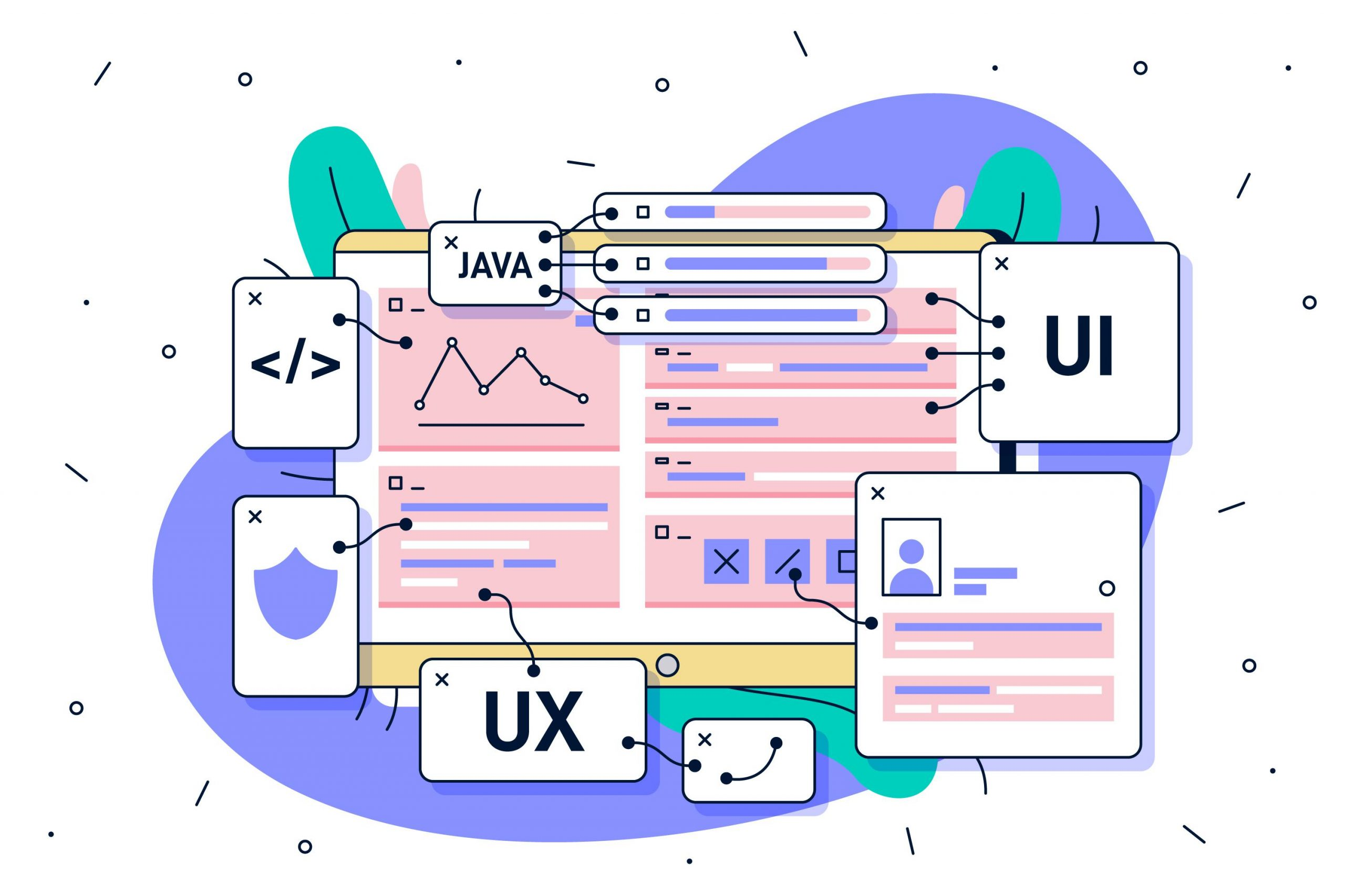What is the difference between UI and UX designer?